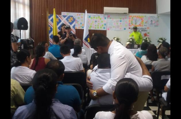 Entrega restos óseos de seis víctimas de las AUC y ARP en Bolívar.