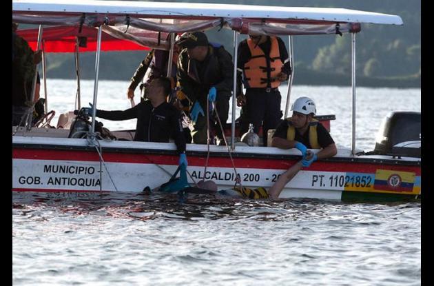 El Ministerio Público se solidarizó con las victimas que dejó el hundimiento de la embarcación El Almirante.