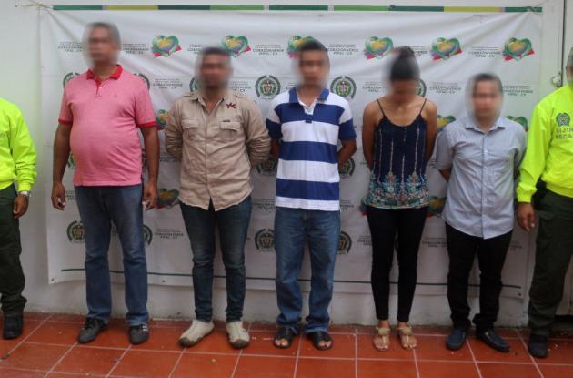 'Los Fortuner', banda delincuencial dedicada al hurto de vehículos en la Costa Caribe.