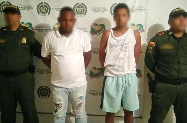 La Policía capturó a dos hombres en Bayunca por el asesinato de Martín De Voz.