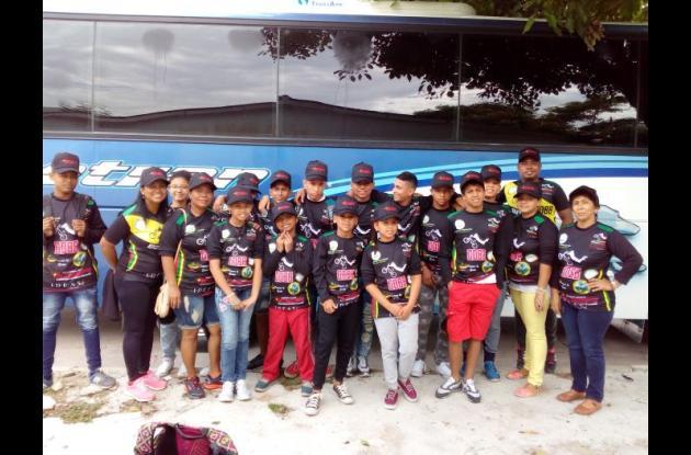 Bolívar cuenta con muchos corredores amantes del bicicross. Semanalmente se van a competir a Barranquilla.