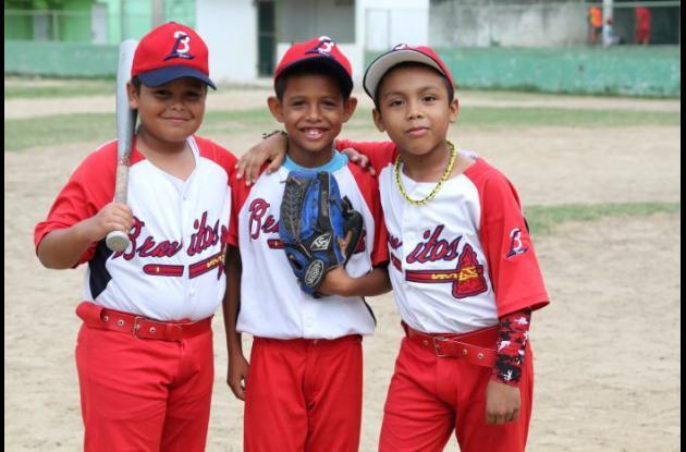 Juan David Peña, Alan Alexander Peña y Juan David Barrios, tres talentos de Bravitos de Lemaitre.