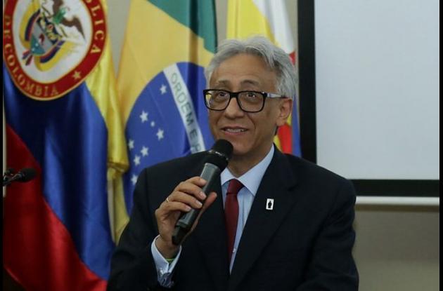 Carlos Eduardo Valdés, Director del Instituto Nacional de Medicina Legal y Ciencias Forenses.