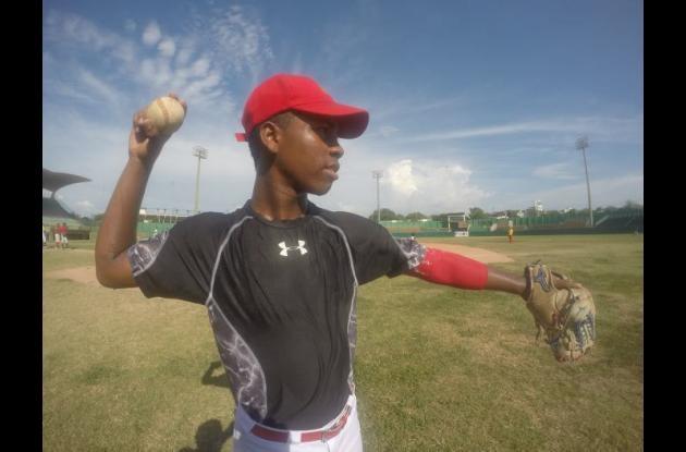 Darwin Chico, segunda base de Colombia.