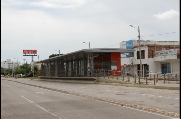 Estación España de Transcaribe
