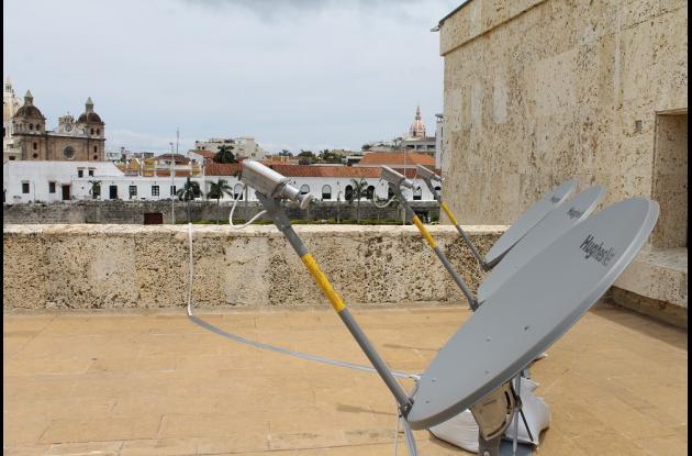 Operador de internet satelital en Colombia