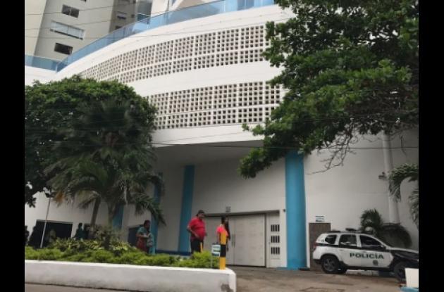 El turista bogotano Heiber López Herrera murió al caer del quinto piso del edificio Poseidón en El Laguito.