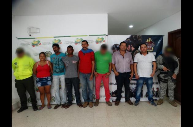 Doce presuntos miembros del Clan del Golfo capturados en sur de Bolívar. Serían autores de Plan Pistola en Córdoba.