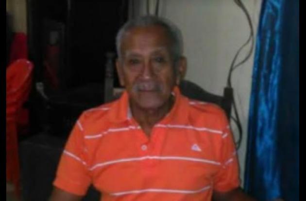 Rogelio Taborda, muerto. Murió tras ser arrollada por moto en Turbaco.