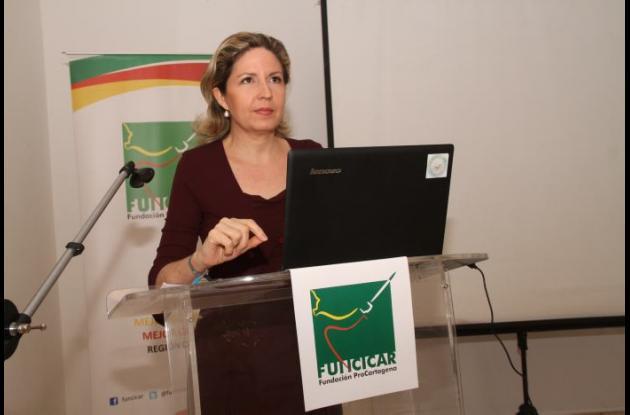 Carolina Calderón, directora de Funcicar.