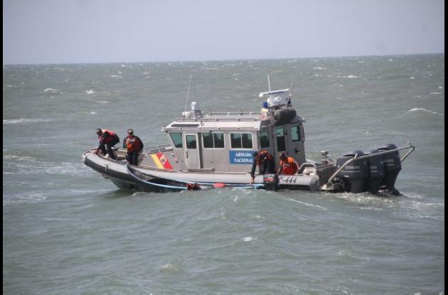 Son diarios los patrullajes que Guardacostas de la Armada realizan. Este año han rescatado a 120 perdonas en inmediaciones de Cartagena.