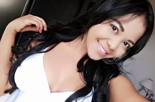 Kelly Palacio, murió al ser arrollada por ambulancia en la avenida Pedro de Heredia.