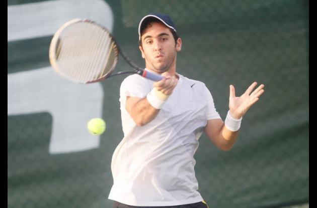 Magin Ortiga fue el mejor tenista de Bolívar.