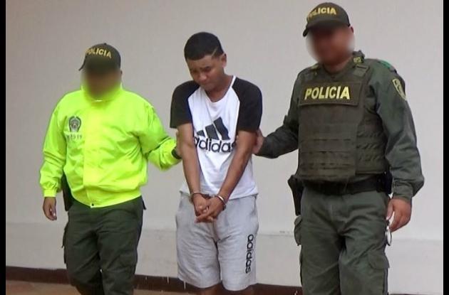Alias el Tarra, capturado por dos homicidios en La Candelaria y Paseo Bolívar.