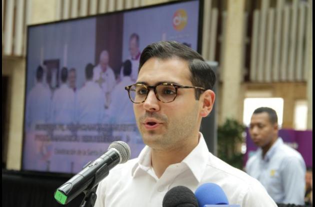Sergio Londoño Zurek, alcalde (e) de Cartagena.