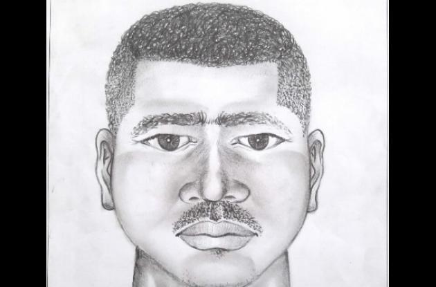 Retrato hablado de taxista que habría violado a una joven venezolana en Cartagena.