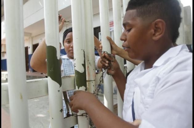 Cierre de colegios privado de Cartagena