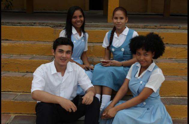 Estudiantes de Soledad Acosta de Samper