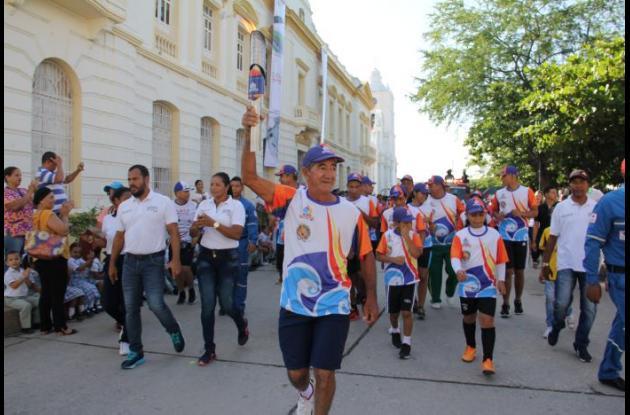 Antorcha de los Juegos Bolivarianos
