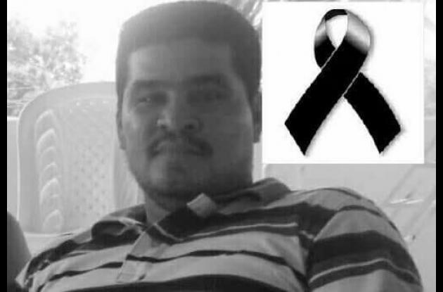Zaider Moisés Amador Guzmán, murió en accidente en moto en Villanueva.