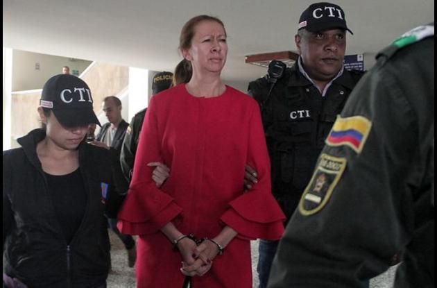Cecilia Rueda Ossa ex esposa de Jhonny Alonso Orjuela, el dueño de Surtifruver