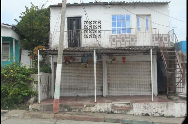 Tienda Caldas en el sector San José Obrero de Olaya, donde balearon de muerte a Luis Balceiro, quien presuntamente intentaba cometer un atraco.