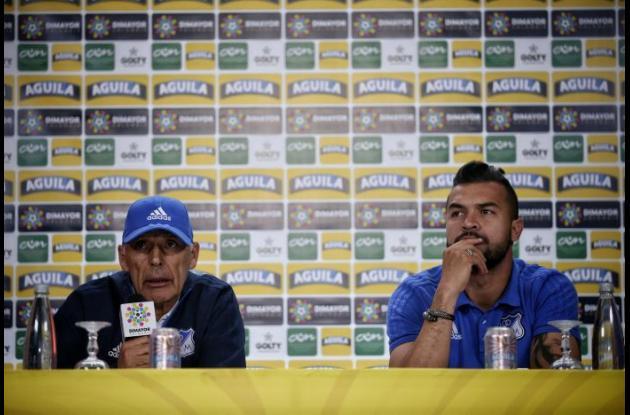 Miguel Ángel Russo y Andrés Cadavid hablan del juego de vuelta de la final de la Liga Águila entre Millonarios y Santa Fe