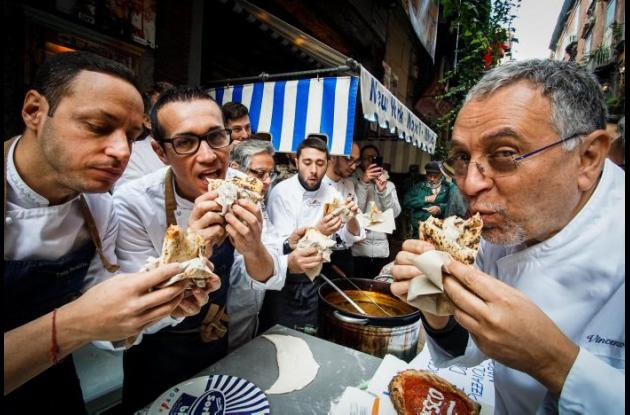 pizzeros de Nápoles