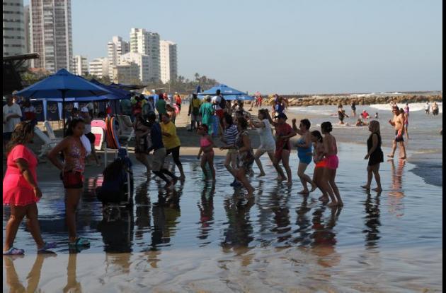 Playas de Bocagrande
