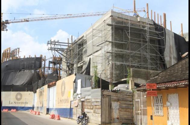 Obras en La Serrezuela
