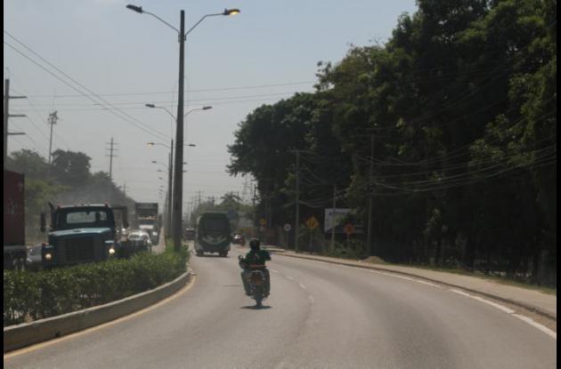 Donald Enrique Díaz Camacho murió horas después de sufrir un accidente en moto en la vía de Mamonal.