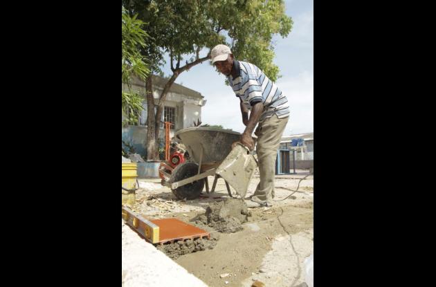 Obras en colegios públicos de Cartagena.