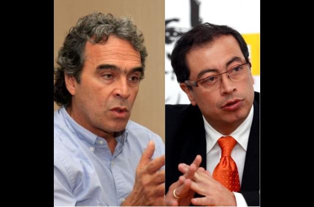 Sergio Fajardo y Gustavo Petro.