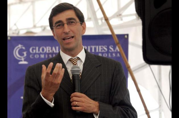 Juan Pablo Córdoba, presidente de la Bolsa de Valores de Colombia