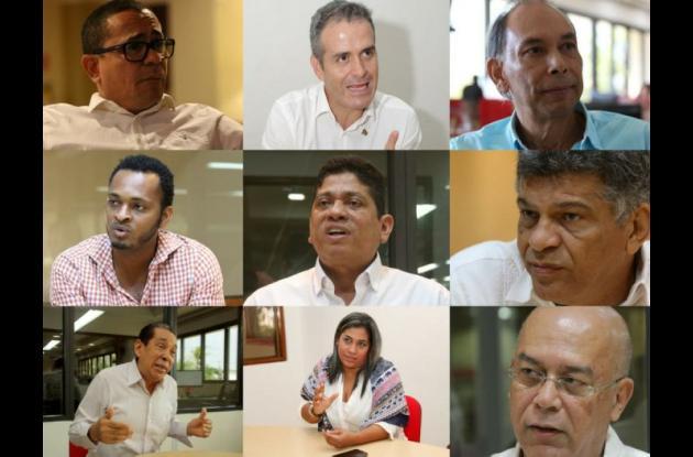 Candidatos a la Alcaldía de Cartagena 2018