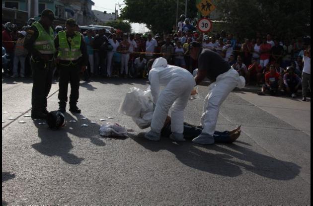 Cristian Tordecilla Ochoa fue asesinado en San Fernando por un cobradiario al que habría atracado.