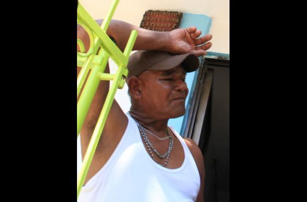 Jesús Tordecilla, Padre de Cristian Tordecilla. Este último fue asesinado en San Fernando porque habría atracado a un cobradiario.