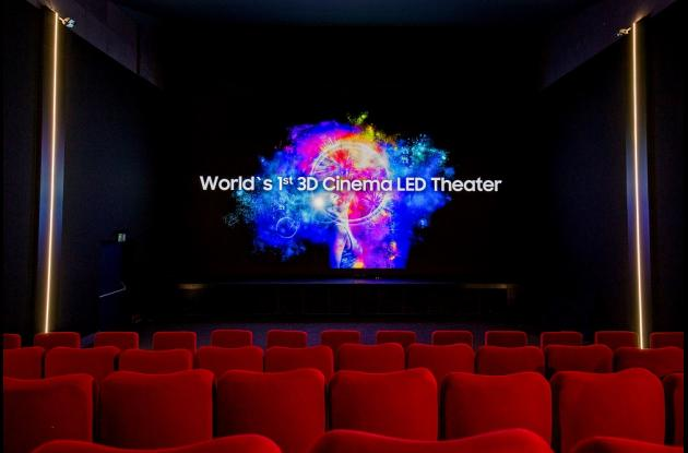La 'pantalla grande' ha entrado en la revolución del cine sin proyectores.