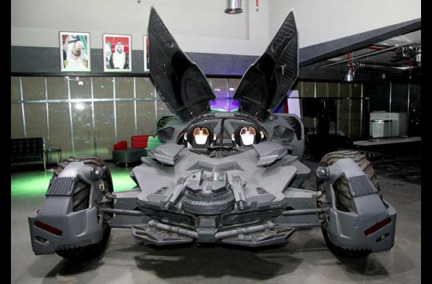Una empresa ecuatoriana hace realidad el coche de Batman en Dubái
