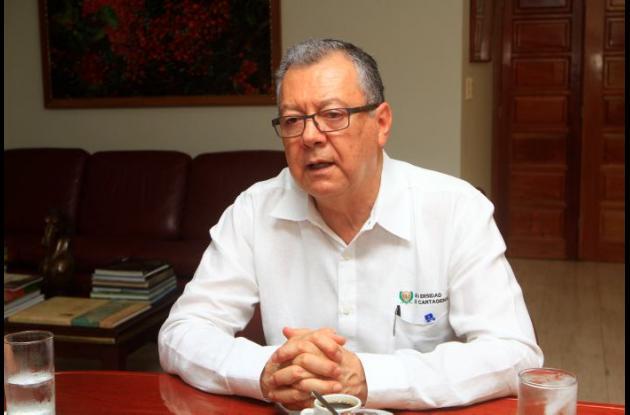 Rector de la Universidad de Cartagena en entrevista con El Universal