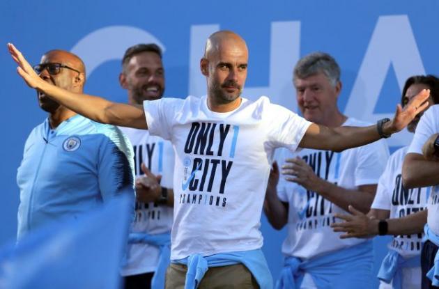 Pep Guardiola D.T. Manchester City