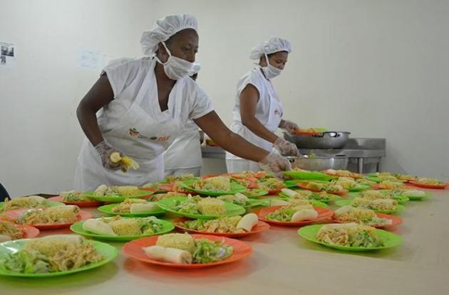 Programa de Alimentación Escolar en Cartagena