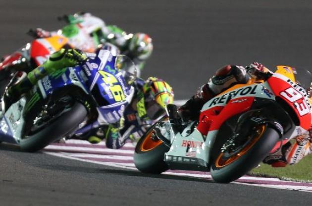Competencia de Moto GP