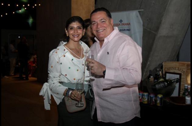 Adriana Guio y Jorge Benites.