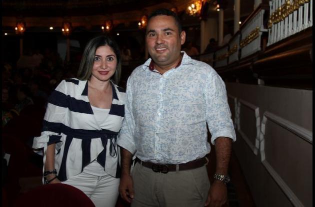 Angélica Hernández y Marco Antonio Vargas.
