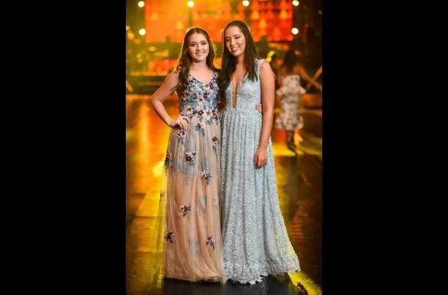 Angélica Sofía Izquierdo De León y María Lucía Valencia Flórez.