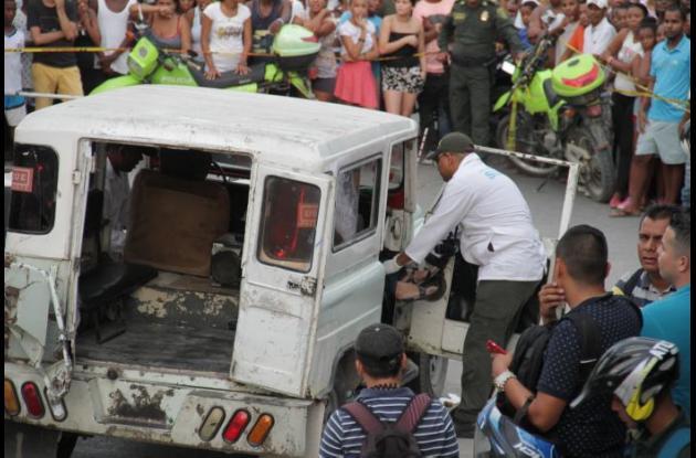 Orfelina Nieto Ramos fue asesinada de un balazo en la cabeza cuando iba en un Jeep colectivo, en Daniel Lemaitre. La mataron por oponerse a un robo.