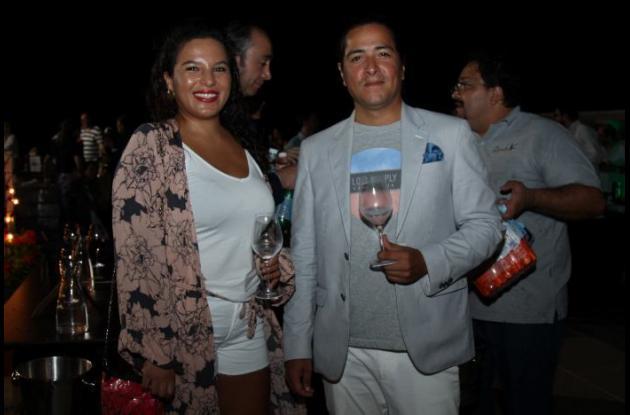 Camila Díaz y Juan Ossa.