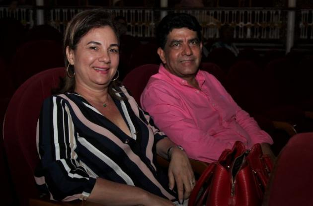 Claudia Eljaiek y Ricardo Díaz.