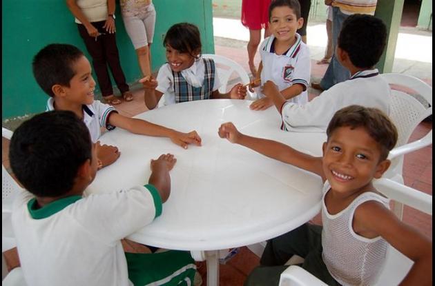 Niños con mala alimentación
